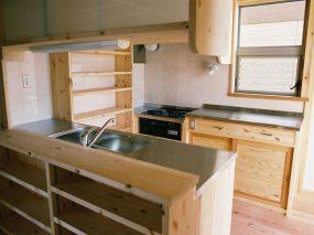 木組みの家「五香の木の家」キッチン