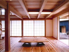 木組みの家「所沢の家」居間
