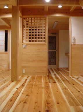 木組みの家「所沢の家」食堂
