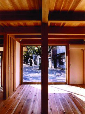 木組みの家「川越の家」大黒柱