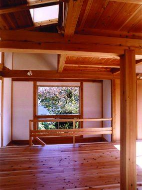 木組みの家「川越の家」2階