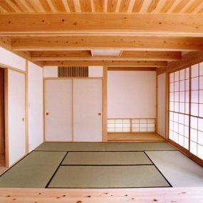 木組の家「中落合の家」和室