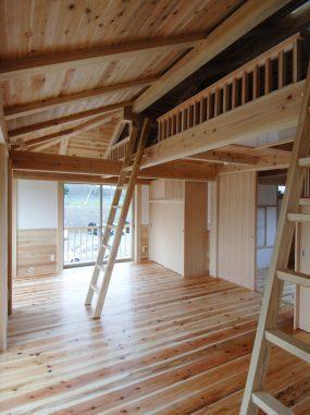 木組みの家「腰越の家」子ども部屋