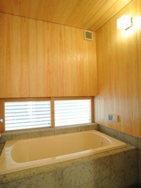 木組みの家「善福寺の家」浴室