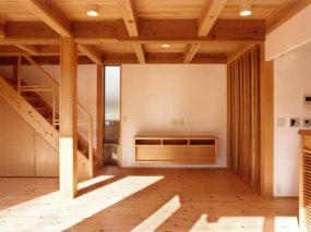 木組みの家「善福寺の家」居間食堂