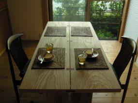木組みの家「善福寺の家」テーブル