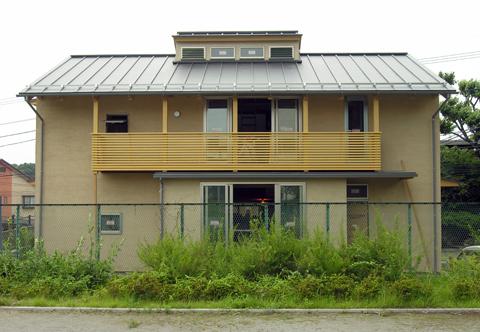 200年住宅「江原の家」外観