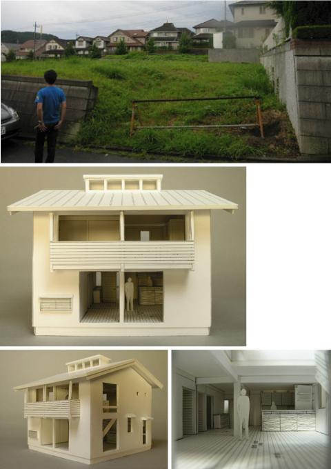 「日高の家」模型が出来ました