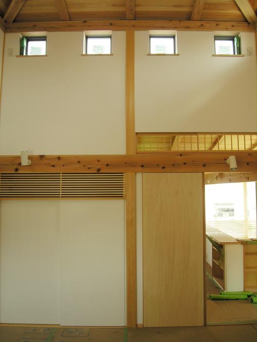 110523「朝霞の家」寝室