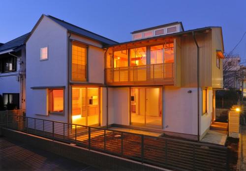 吉祥寺の家2夜景