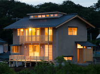 木組みの家「常田の家」