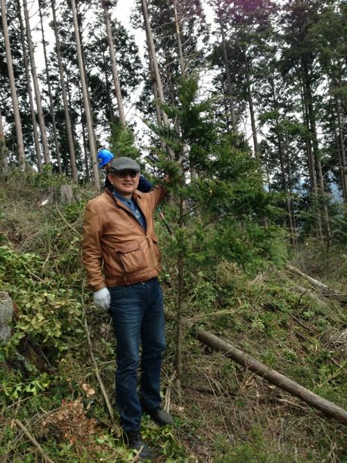 ワークショップ「き」組植林ツアー