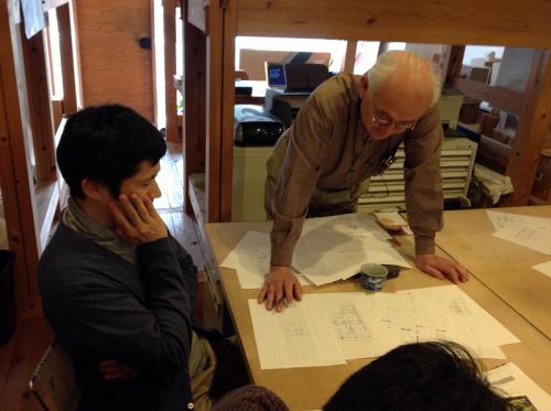 「木組のデザイン」ゼミナール入門コース初日一日設計