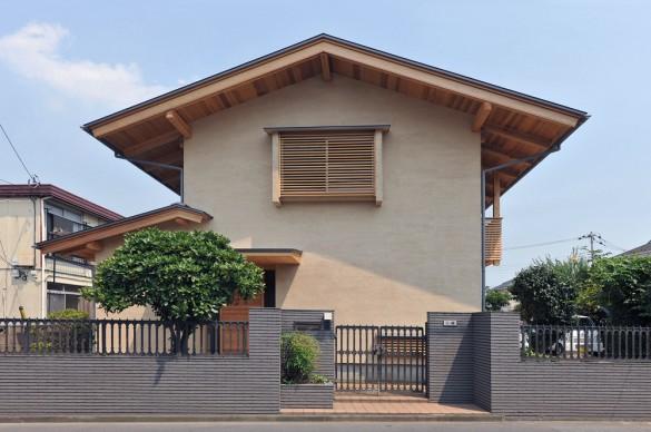木組みの家「橋本の家」外観