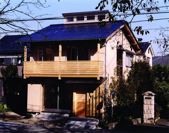 木組みの家「川越の家」外観