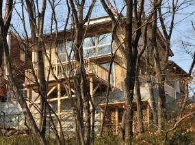 木組みの家「豊田の家」外観
