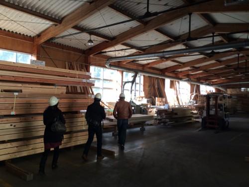 木組の家「天竜天然乾燥無垢材ツアー」