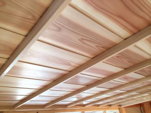 木組みの家「吉祥寺の家3」和室の竿縁天井