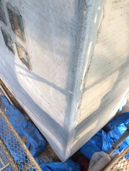 木組みの家「吉祥寺の家3」外壁下塗り