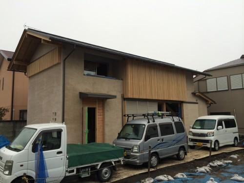 木組みの家「吉祥寺の家3」木漏れ日をつくる格子