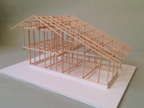 木組ゼミ2013年上級コース最終日「模型」