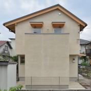 木組みの家「八王子の家」完成外観