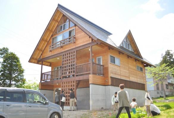 木組みの家「飯山の家サポート」外観1