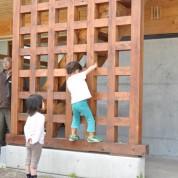 木組みの家「飯山の家サポート」格子
