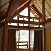 木組みの家「飯山の家サポート」小屋組