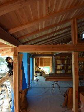 木組の家「佐倉の平屋」141017_1