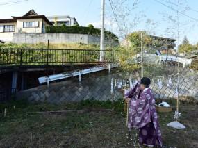 木組みの家「松本城のみえる家」地鎮祭