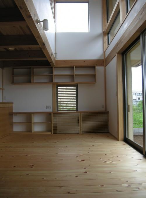 110808大和の家完成居間