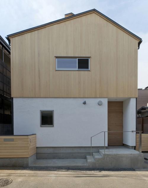 木組みの家「高円寺の家」外観