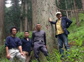 「佐倉の平屋」吉野の山