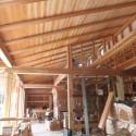 木組みの家「佐倉の平屋」大工工事1