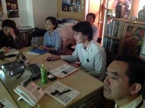 木組ゼミ2014実践「温熱講座1」