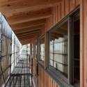 木組みの家「松本城のみえる家」板張り