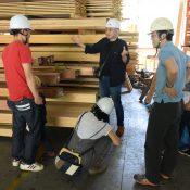 天竜 材木検査